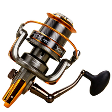 8000 9000 Series Fishing Reels 14BBS 4.6:1 Metal Distant Wheel Carpe Sea Reel Spinning Fly Accessories Left Right