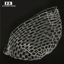 Kylebooker 39 47 inch Large Clear Rubber Replacement Net For Fly Fishing Landing Net Medium Large
