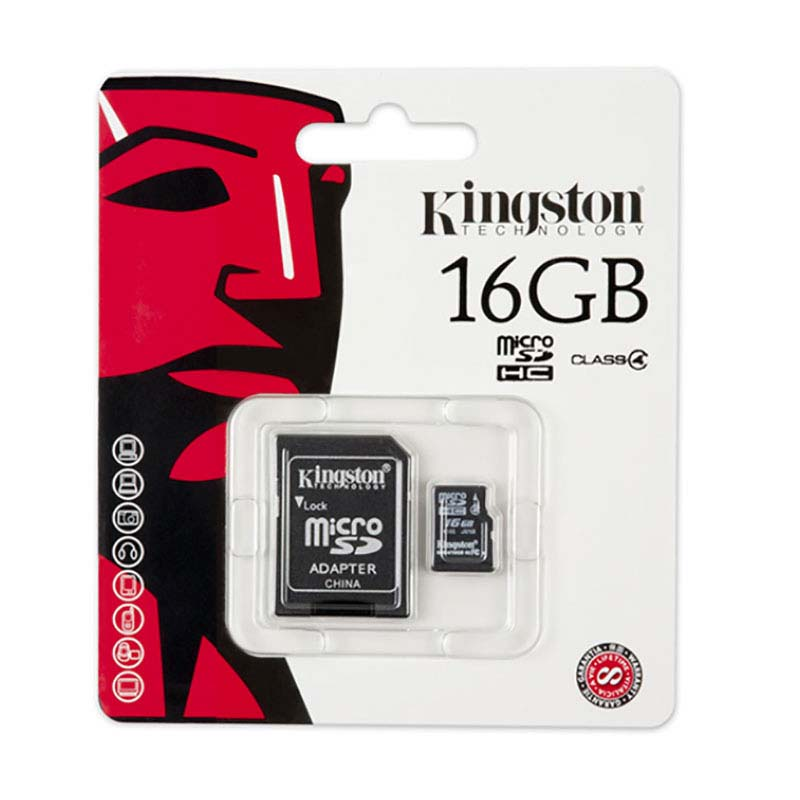 Image 5 - Original Kingston High Speed MicroSD Class 4 Micro SD Card 8GB 16GB 32GB Memories Card  TF Microsd SDHC With Adapter And Reader-in Memory Cards from Computer & Office