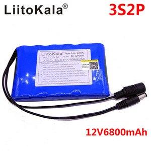 Image 3 - Liitokala Portable Super Rechargeable Lithium Ion battery pack capacity DC 12V 6800Mah CCTV Cam Monitor