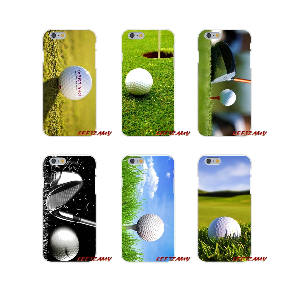 Love Golf Ball Sport Slim Silicone phone Case For Sony Xperia Z Z1 Z2 Z3 Z4 Z5 compact M2 M4 M5 E3 T3 XA Aqua