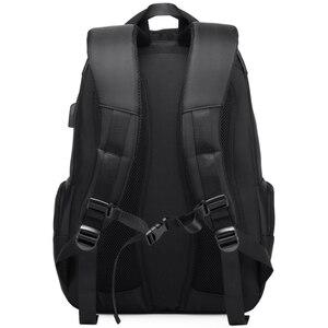 Image 3 - RUISHISABER Brand New 15 inch Laptop Backpack Women USB Charging Travel Backpack Men Oxford Waterproof Backpacks School Mochila