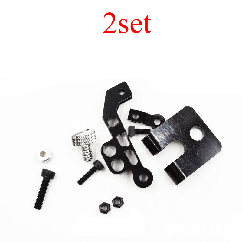 2Set Displayer Mounting Bracket Monitor Support Holder Stand w/Center Gravity Regulator for Remote Controller RC FPV Drone Parts image