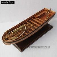Деревянный корабль комплекты моделей шкала 1/36 поезд хобби модель дерево лодки 3d лазерная резка Модель корабль Сборка Diy Полный ребро Armed лод