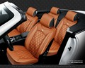 Для SUBARU XV Forester outback НАСЛЕДИЕ IMPREZA черный марка роскошные кожаные чехлы на сиденья автомобиля передний и задний Полный набор сиденье автомобиля крышка