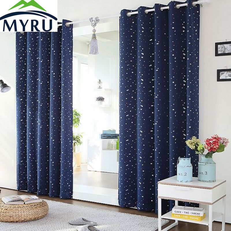 Myru Thermal Insulated Amp Heating Against Star Curtains