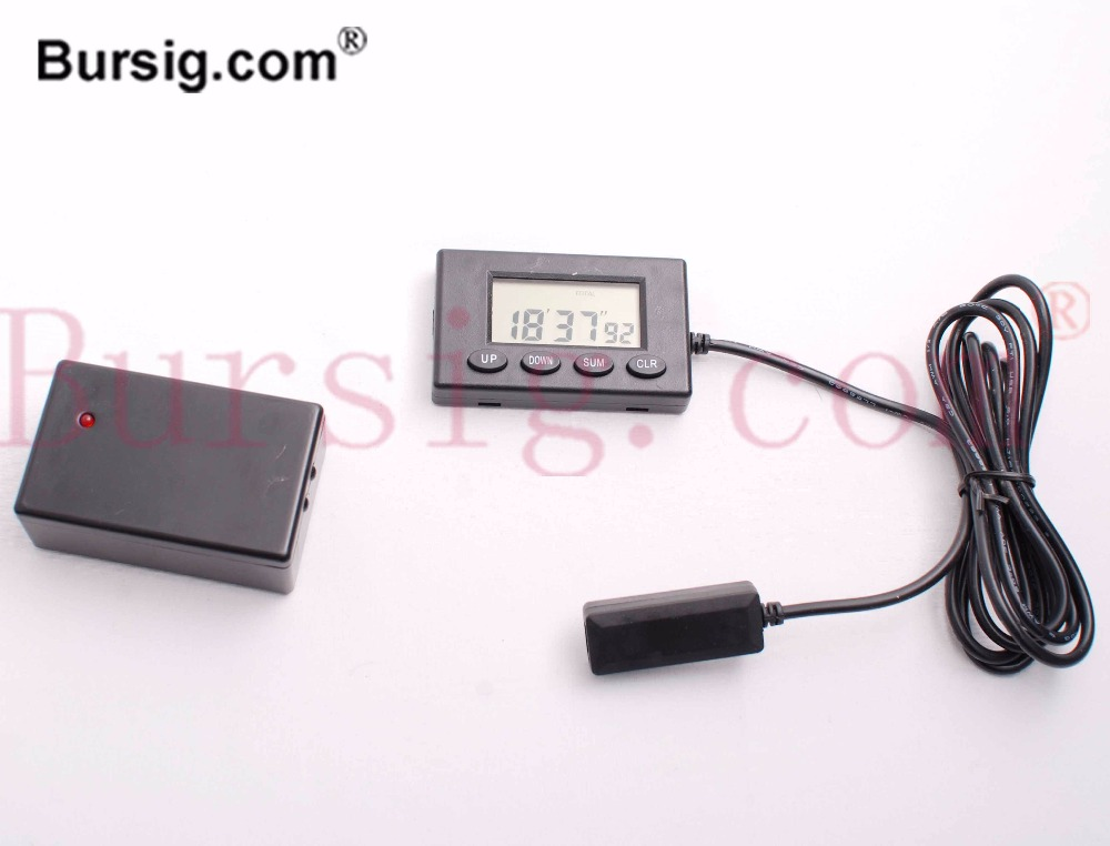 CE Approved V2 Lap Timer KIT Transmitter and Receiver with Cable Track Interval 1 Time for