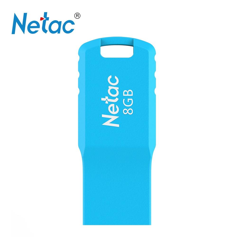 Netac U195 USB2 0 USB Flash Mini Flash Disk Pen Drive 8GB 16GB 32GB Black Blue