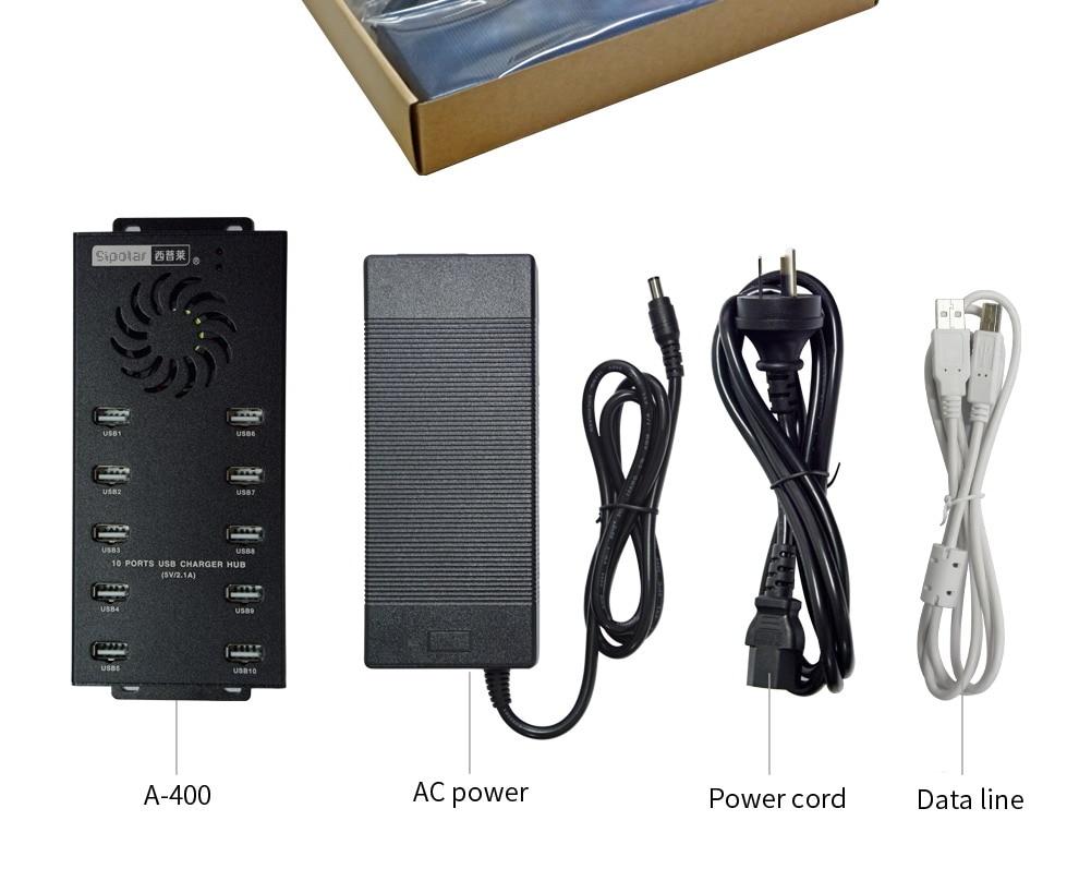 10 Port USB Charging Station Hub Tablet font b Smartphone b font from Sipolar international brand