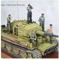Frete Grátis 1/35 Scale Figura da Resina Alemão de WWII Tripulações Tanque set 5 números (excluindo o tanque)