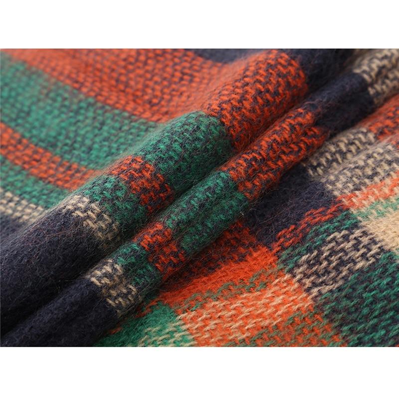 2017 Marca de Moda Gran Cuadrado Bufanda Para Las Mujeres de - Accesorios para la ropa - foto 6