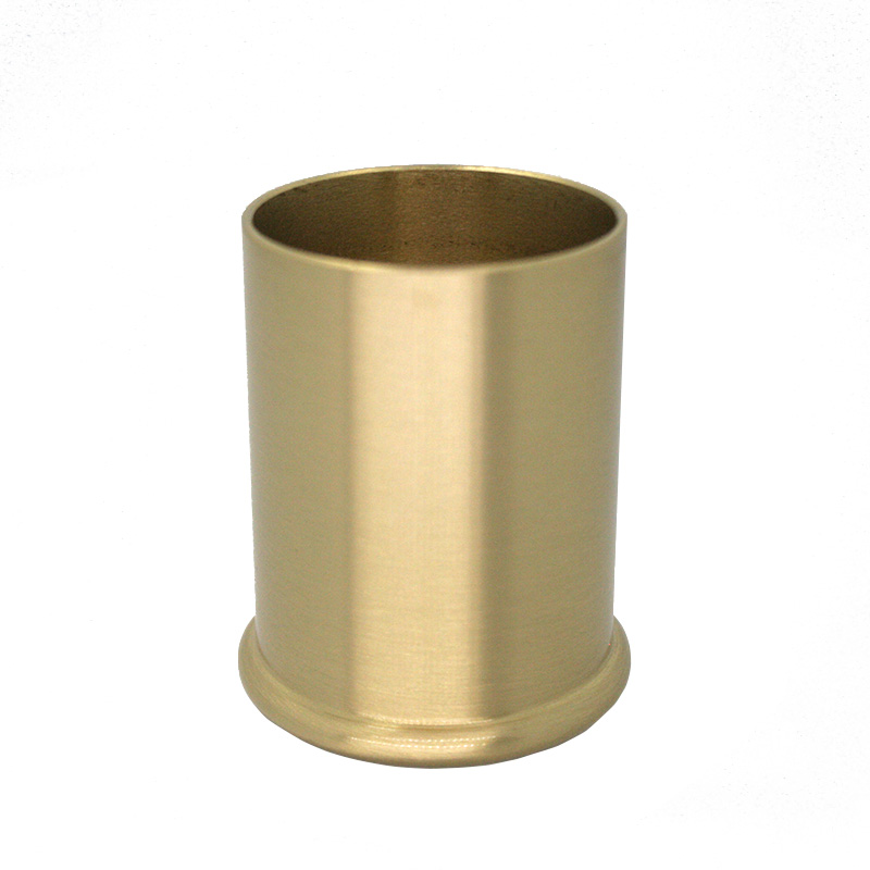 4pcs/lot Brass Cabinet Leg Covers Chair Cups Sofa  Leg Tube Round Brass Furniture Leg Free Shipping