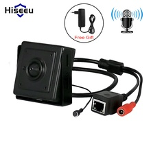Hiseeu HD 720 P 1.0MP กล้องวงจรปิดความปลอดภัยกล้อง IP ไมโครโฟนการเฝ้าระวังวิดีโอหน้าแรกกล้องเครือข่าย P2P การเข้าถึงโทรศัพท์มือถือ