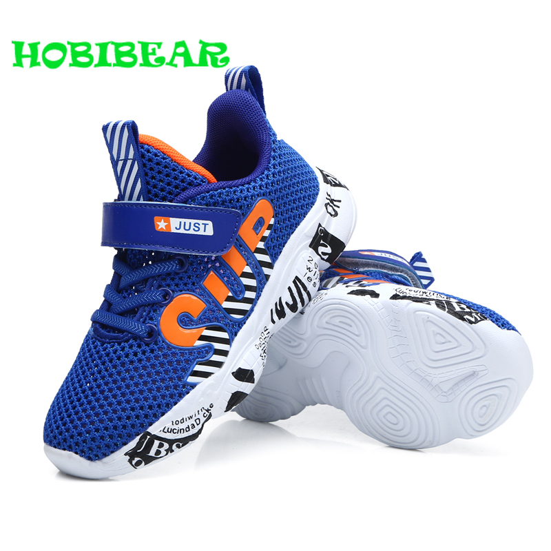 HOBIBEAR Summer Baby Boys Casual Shoes Sports Running Shoes for Boys Red Black Children Sneakers Breathable Teenage TrainersHOBIBEAR Summer Baby Boys Casual Shoes Sports Running Shoes for Boys Red Black Children Sneakers Breathable Teenage Trainers