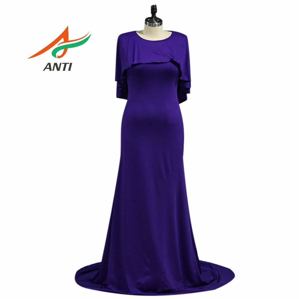 Us 73 5 30 Off Anti Elegant Purple Mother Of The Bride Dresses Vestido De Madrinha Mother Bride Gowns Forma Long Party Gowns Floor Length In Mother