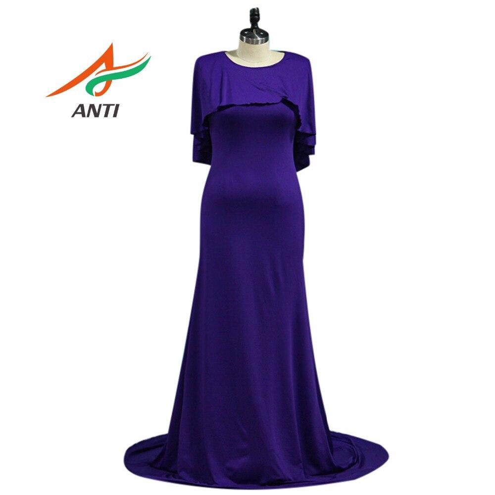 ③Anti elegante Madre púrpura de la novia Vestidos vestido de ...