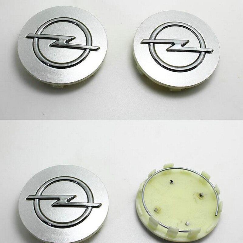 Frete Grátis-car styling Carro Conduziu a Lâmpada 4 pc opel tampa do cubo da roda 5.9 cm ou 6.4 cm