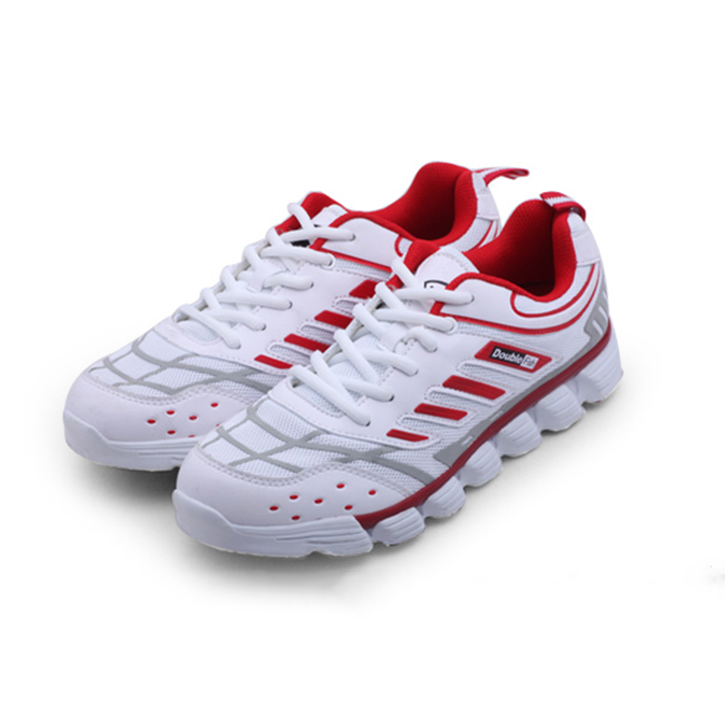 2018New DOUBLE FISH table tennis Shoes Breathable Anti-slippery cushioning ping pong Sneakers Running Shoes For Men Women aldomour breathable volleyball shoes sneakers stability anti slip ping pong shoes breathable table tennis shoes volleyball shoes