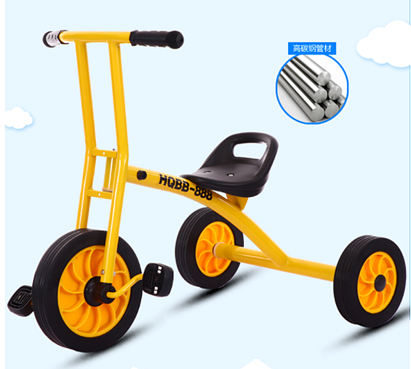 Children Tricycle Bicycle Baby Stroller Kindergarten Early Education
