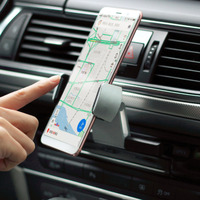 Car Phone Holder Universal Air Vent Mount Clip Cell Holder For Phone In Car No Magnetic Mobile Phone Stand Holder Smartphone