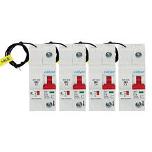 4PCS 1P WiFi remote control Smart Circuit Breaker overload short circuit protection with Alexa and Google  for Smart home стоимость