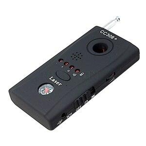 Image 3 - Detector de señal de lente de cámara inalámbrico multifunción CC308 + señal de ondas de Radio cámara con Detector WiFi RF de rango completo