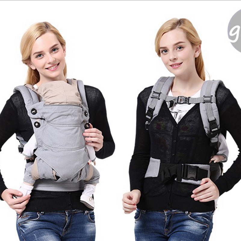 715d026ba79 Four Position 360 Baby Carrier Multifunction Breathable Infant Carrier  Backpack Kid carrier Toddler Sling Wrap Suspenders