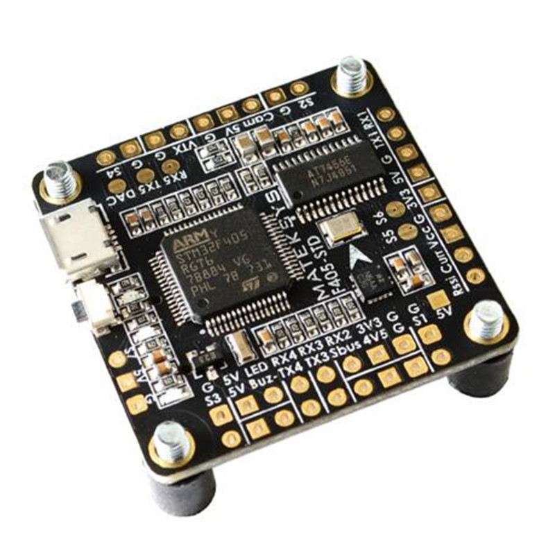 Matek BetaFlight F405-STD with OSD FCHUB-6S PDB F405 Flight Control Board DShot outputs STM32F405 For drone RC Multicopter