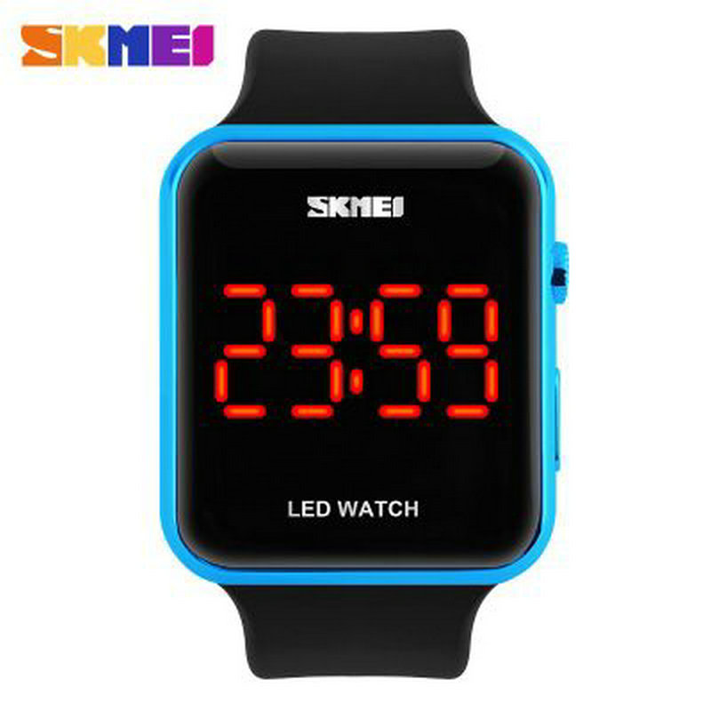 couples present Waterproof China Led Watches Sport Fashion Style calendar digital electronic watch blue women