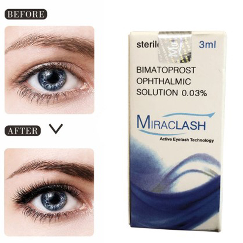 3ml Eyelash Growth Eye Serum 7 Day Eyelash Enhancer Longer Fuller Thicker Lashes Serum Eyelashes Lifting And Eyebrow Growth