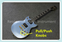 China Custom Shop Pull Push Knobs Suneye SG Electric Guitars In Light Blue Same As Picture For Sale