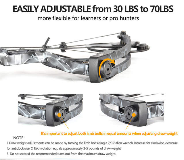 US $298 79 |Ship From USA Warehouse Compound Bow Gift for Women, Package  M1,19 30 inch Draw Length,10 50Lbs Draw Weight,LIMBS MADE IN USA-in Bow &