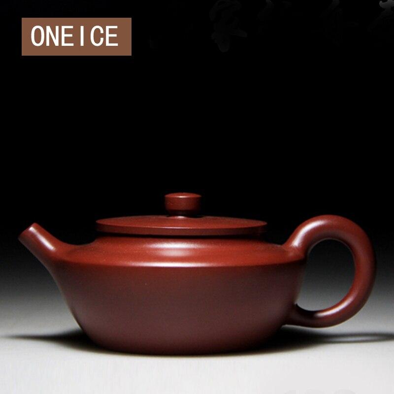 ONEICE Sailing Pot Authentic Yixing Teapot Famous Handmade Teapot Red Mud Zhu Red Mud author: Xu Ping ONEICE Sailing Pot Authentic Yixing Teapot Famous Handmade Teapot Red Mud Zhu Red Mud author: Xu Ping