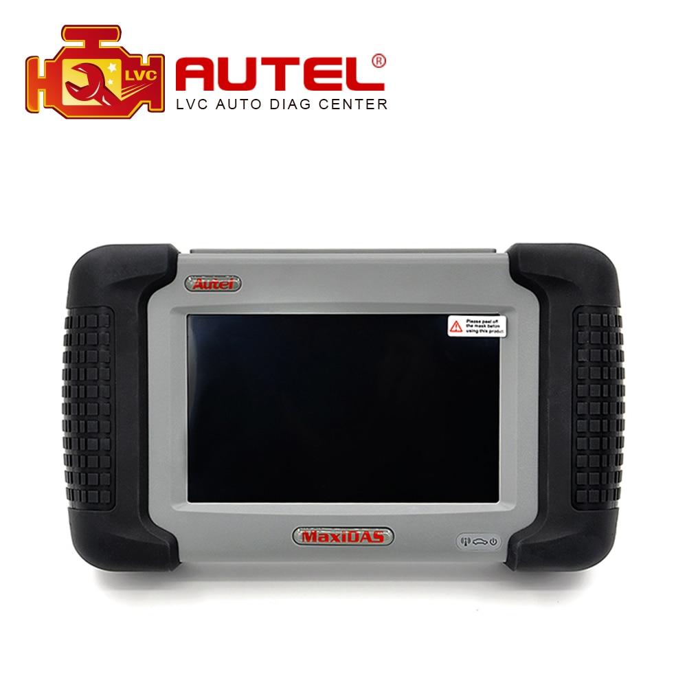 Цена за 100% Оригинальный Autel MaxiDAS DS708 многоязычная многоязычная авто диагностический инструмент обновление онлайн полный пакет DS 708 на складе