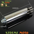 Stainless Steel Exhaust Muffler Rotating Gatling Gun For Motorcycle Motocross Enduro Scooter ATV Quad Dirt Pit Bike Off Road