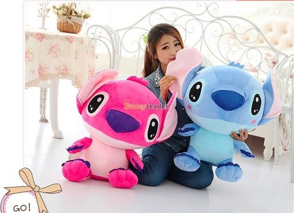 Fancytrader 47\'\' 120cm Biggest Huge Giant Stuffed Soft Plush Stitch, 2 Colors, Free Shipping FT50407 (7)