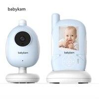 babykam digital baby monitor 2.4 inch IR Night vision Lullabies Temperature Monitor Intercom Feeding Alarm pocket fetal doppler