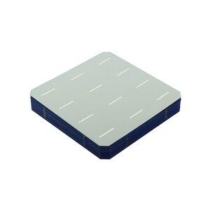 Image 3 - 40 Pcs 5 celle solari monocristalline 156*156mm per il pannello solare Mono fotovoltaico di DIY