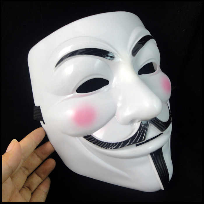 v for vendetta anonymous film guy fawkes face mask for halloween fancy dress costume cosplay costume march protest party masks in party masks from home