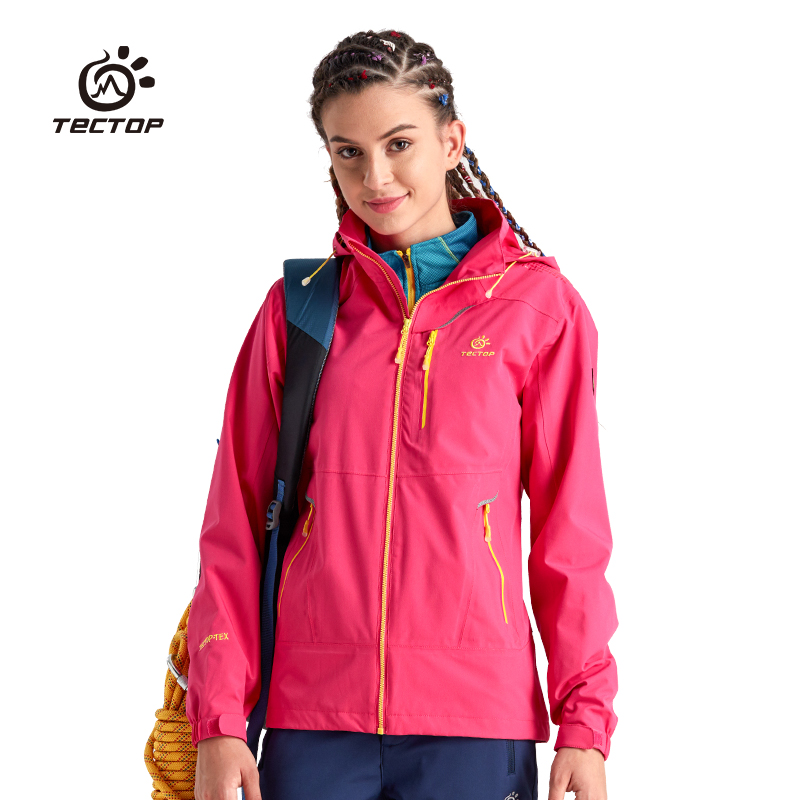 ФОТО Winter Waterproof Windproof Jacket Mountain Softshell Jacket Women Hiking Clothing Outdoor Climbing Power Sport Jacket Women