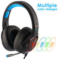 ONIKUMA K9 Gaming Headset Casque PC Stereo Gaming Headphones with Microphone LED Light For Laptop/ PS4/Xbox One Controller Gamer