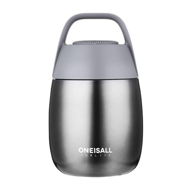 450 ML termo contenedor de alimentos termo botella para sopa con termo bolsa cuchara frasco de vacío aislamiento olla de sopa olla de estofado la caja de Almuerzo