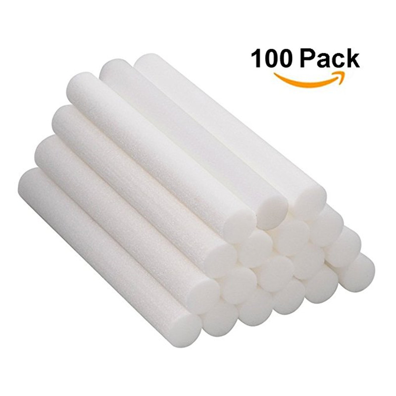 Free Shipping 100PCS/lot Aromatherapy Inhaler Refill Wick Stick Package,Nasal Inhaler Japanese Cotton Wicks