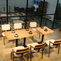 Customzied современный дизайн диван, обеденный стол и стул для ресторана бар проекта