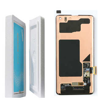NEW ORIGINAL SUPER AMOLED S10 LCD For SAMSUNG Galaxy S10 G973F G973 S10 Plus G975 G975F Touch Screen Digitizer Assembly