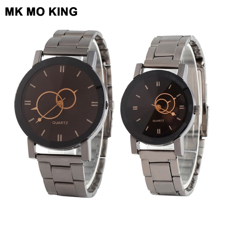 Korean Couple Watch Fashion Stainless Steel Men's And Women's Clock Ladies Festival Luxury Brand Wrist Watch Bracelet Dw Reloj