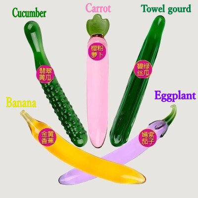Vegetable sex toys