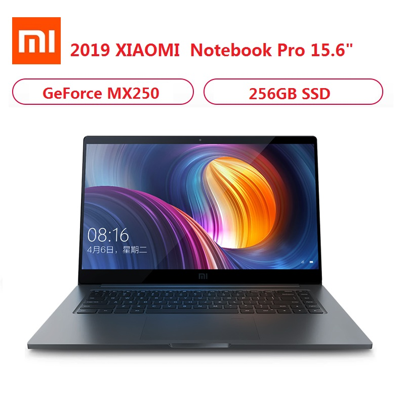 2019 Xiaomi Mi Notebook Pro 15.6 Inch Windows 10 Intel Quad Core I5/I7 8GB/16GB RAM 256GB SSD 2G Dedicated Card Gaming Laptop
