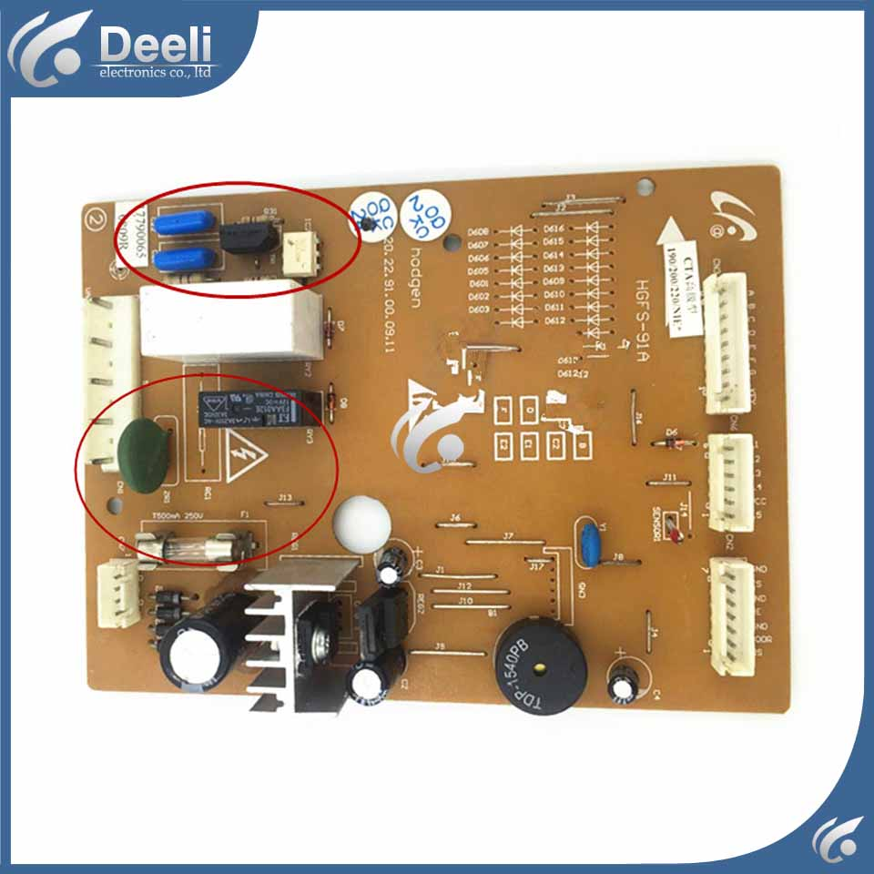 95% new good working for refrigerator DA41-00345B inverter board control board pc board on sale 95% new for samsung refrigerator pc board computer board rs19 da41 00401c a board good working