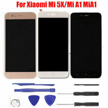 Original LCD Display With Touch Screen for Xiaomi Mi A1 LCD MiA1 Screen Mi 5X Mi5X LCD Display original and new lcd screen with touch screen truly ips5k0573fpc a1 e wz a ips5k0573fpc a1 e ips5k0573fpc assembly free shipping
